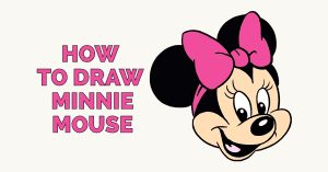 How to Draw Minnie Mouse: Featured Image