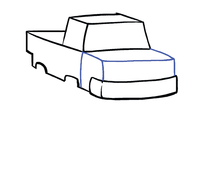 How to Draw Monster Truck: Step 6
