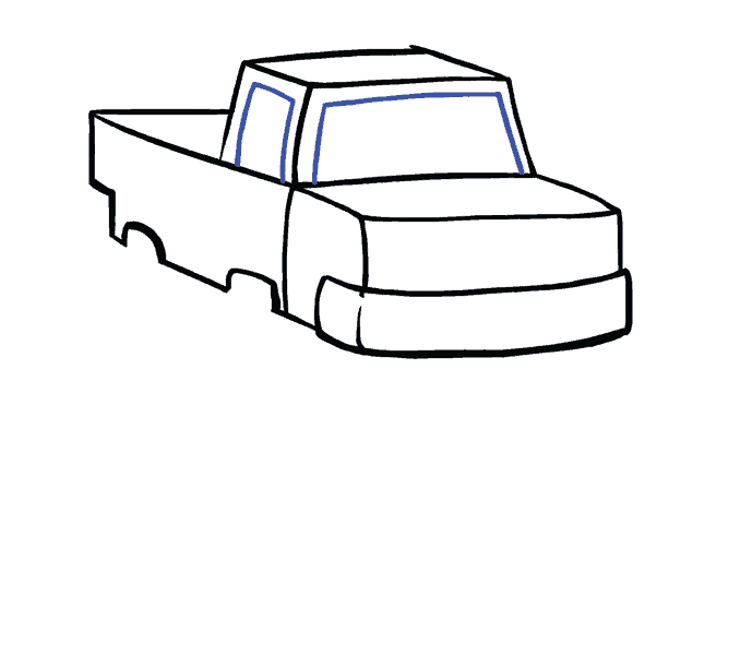 How to Draw Monster Truck: Step 7