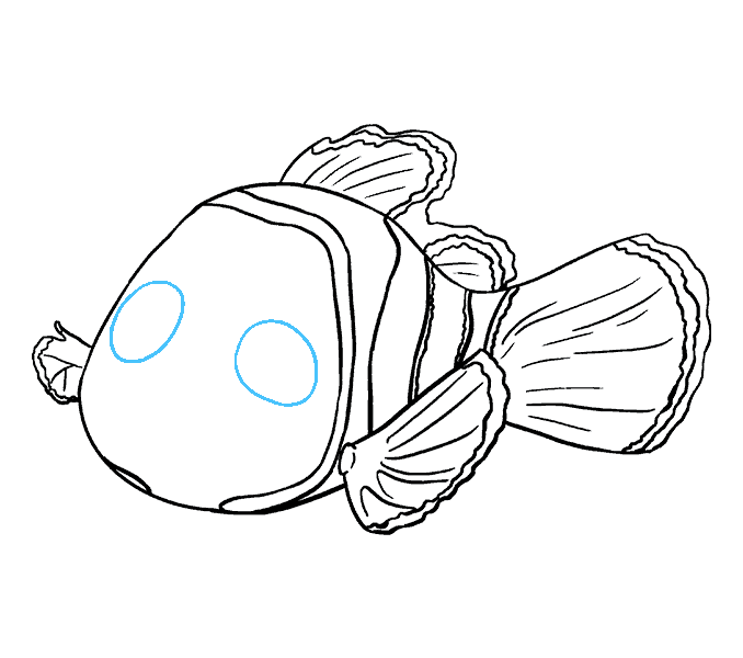 How to Draw Nemo: Step 15