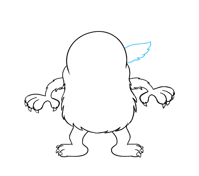 How to Draw Cartoon Monster: Step 12