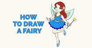 How to Draw a Fairy: Featured image