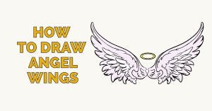 How to Draw Angel Wings: Featured image