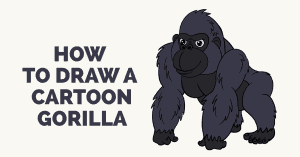How to Draw a Gorilla: Featured image