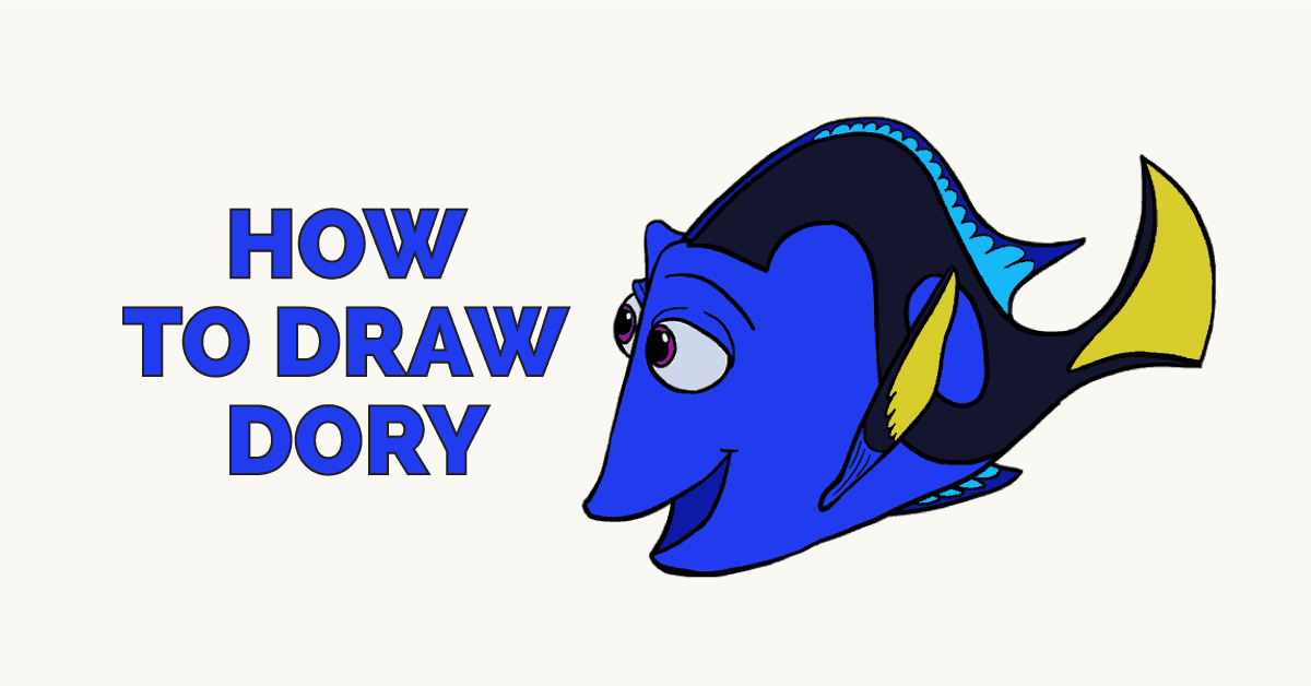 How to Draw Dory: Featured image