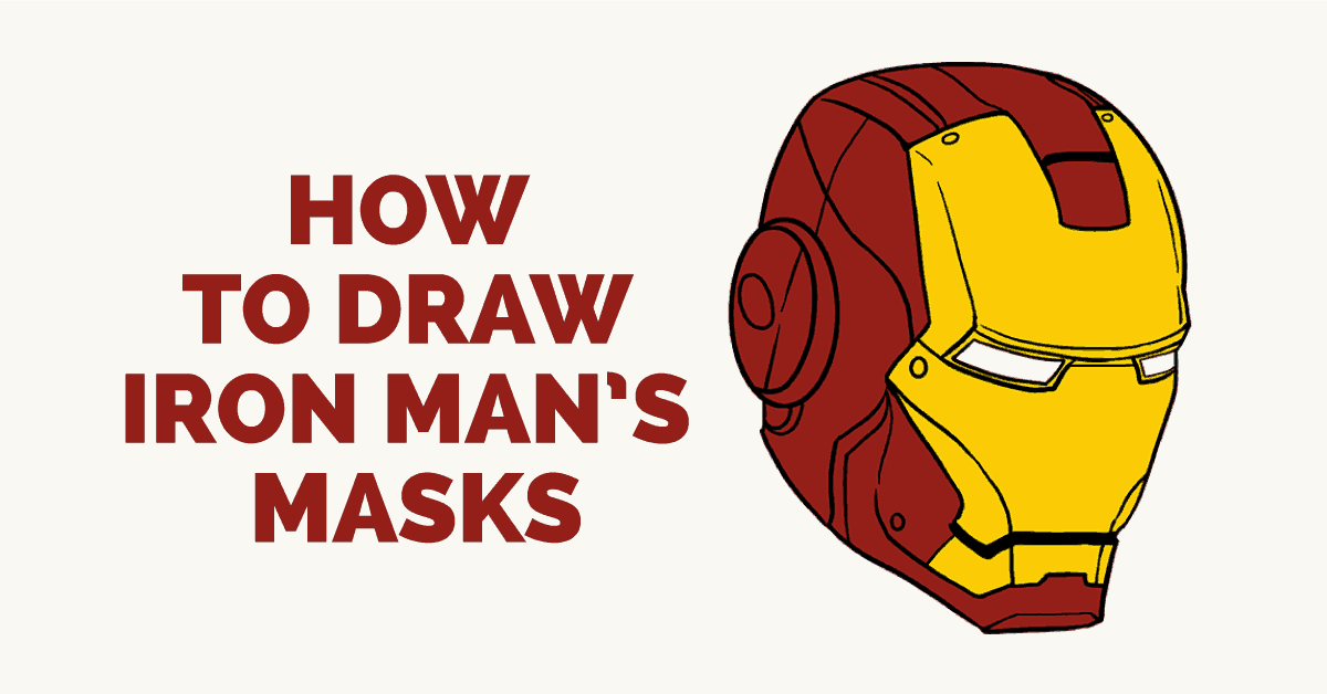How To Draw Iron Man In A Few Easy Steps Easy Drawing Guides