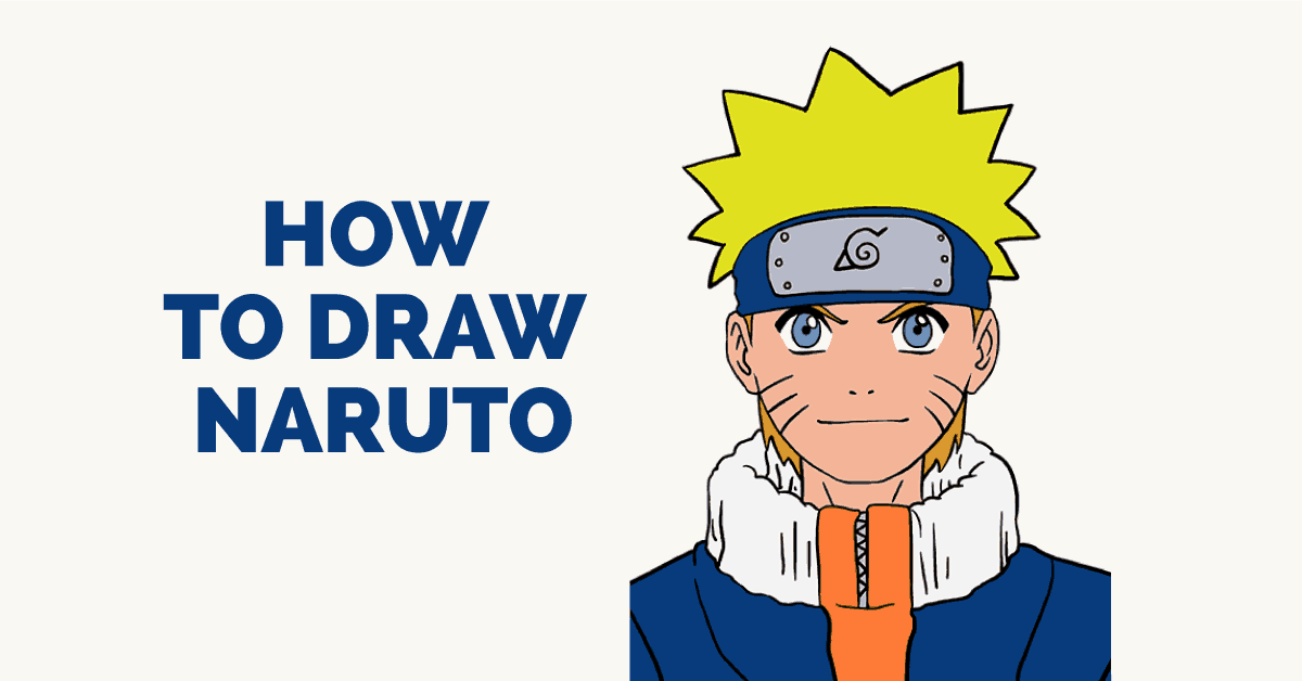 How To Draw Naruto In A Few Easy Steps Easy Drawing Guides