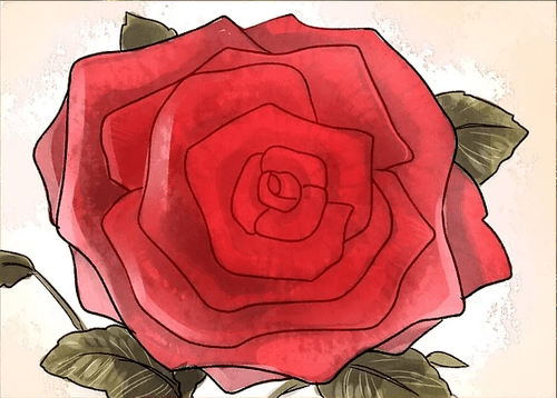 Drawing tutorial: Three Ways To Draw a Rose