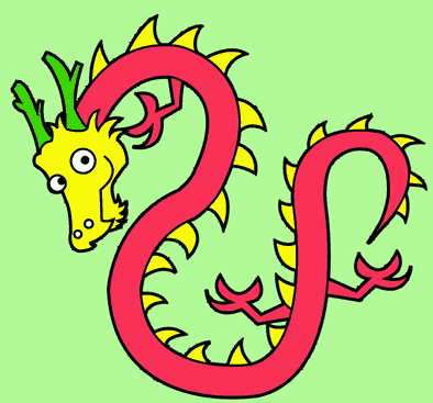 Drawing tutorial: How to Draw a Simplified Chinese Dragon