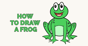How to draw a frog: Featured image