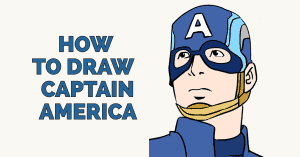 How to Draw Captain America: Featured image