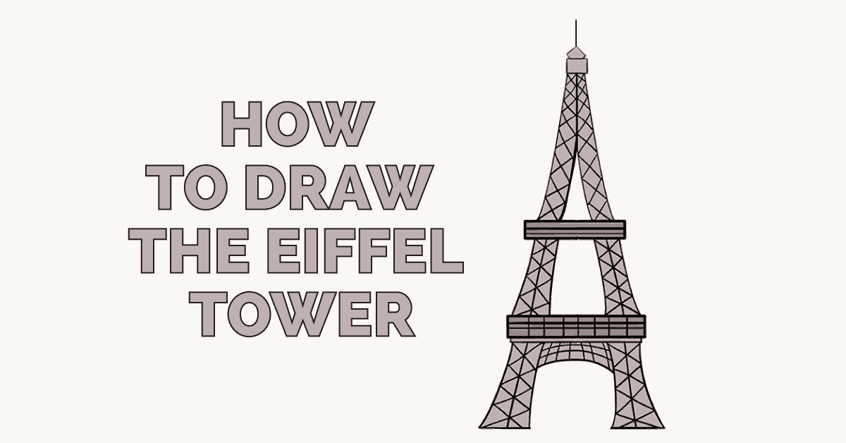 How to Draw Eiffel Tower: Featured image
