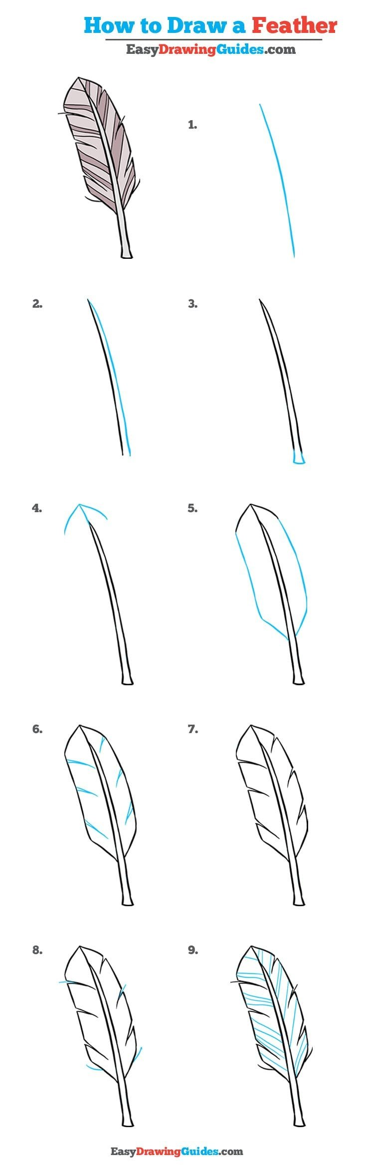 How to Draw Feather