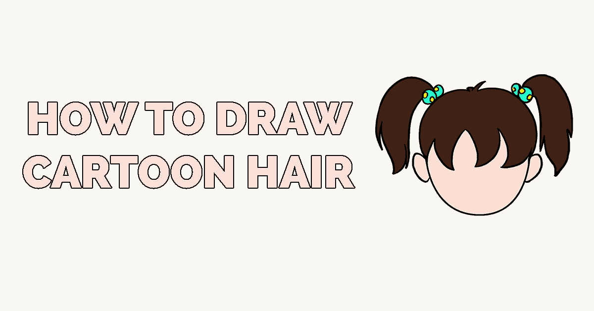 How to Draw Cartoon Hair Featured