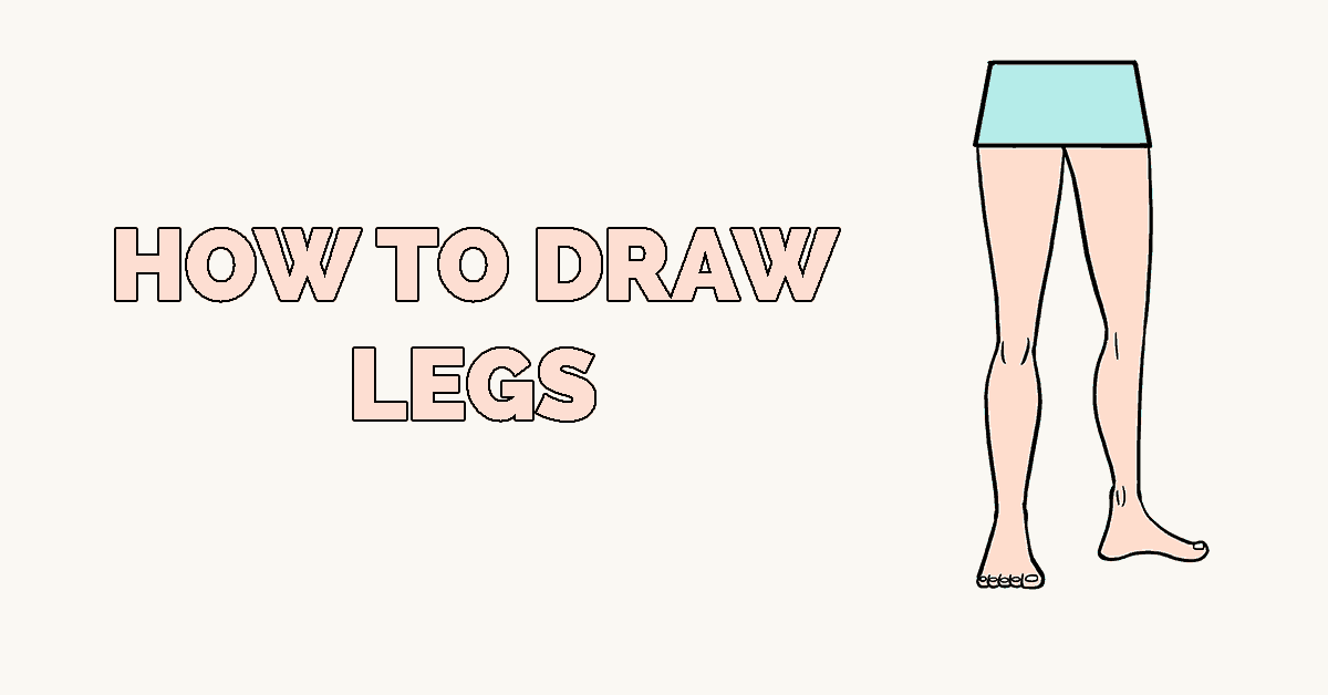 How to Draw Legs Featured