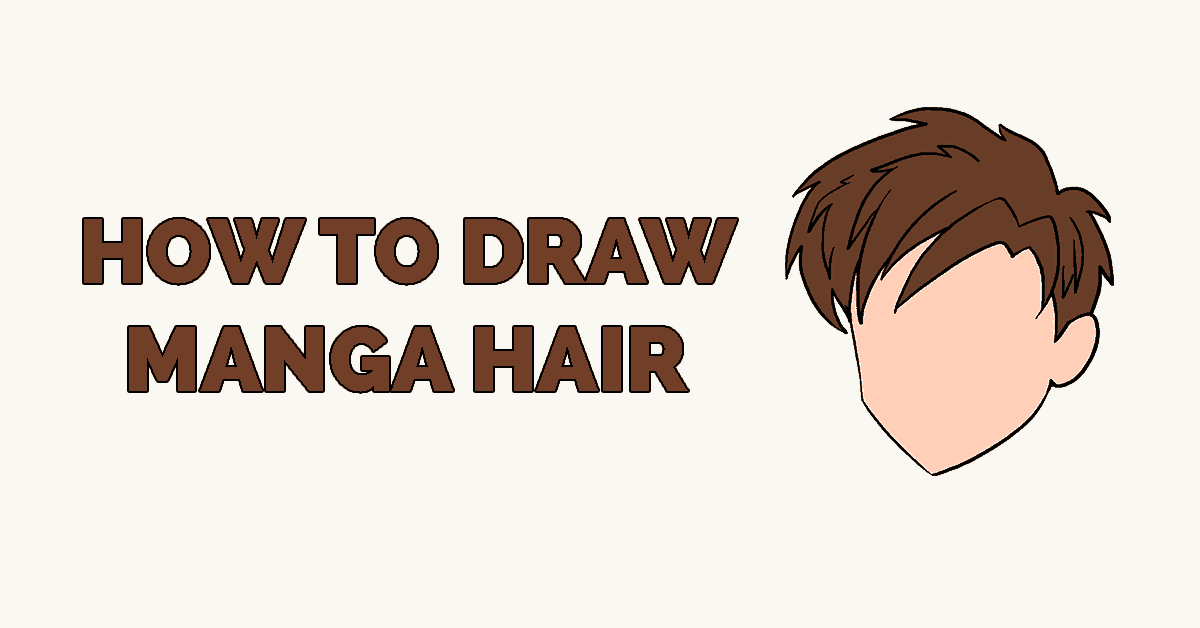 How to Draw Manga Hair Featured