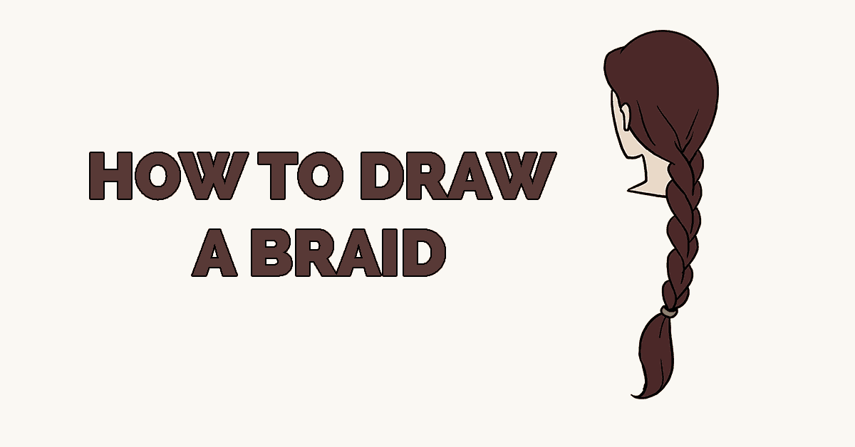 How to Draw a Braid Featured