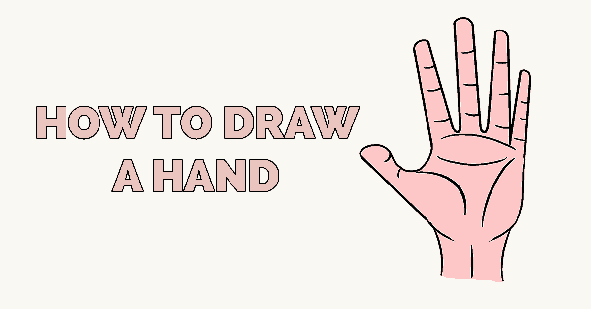 How to Draw a Hand Featured Image