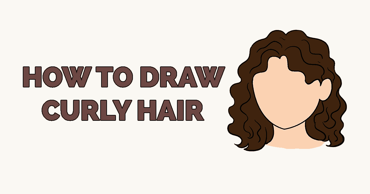 How to Draw curly hair Featured
