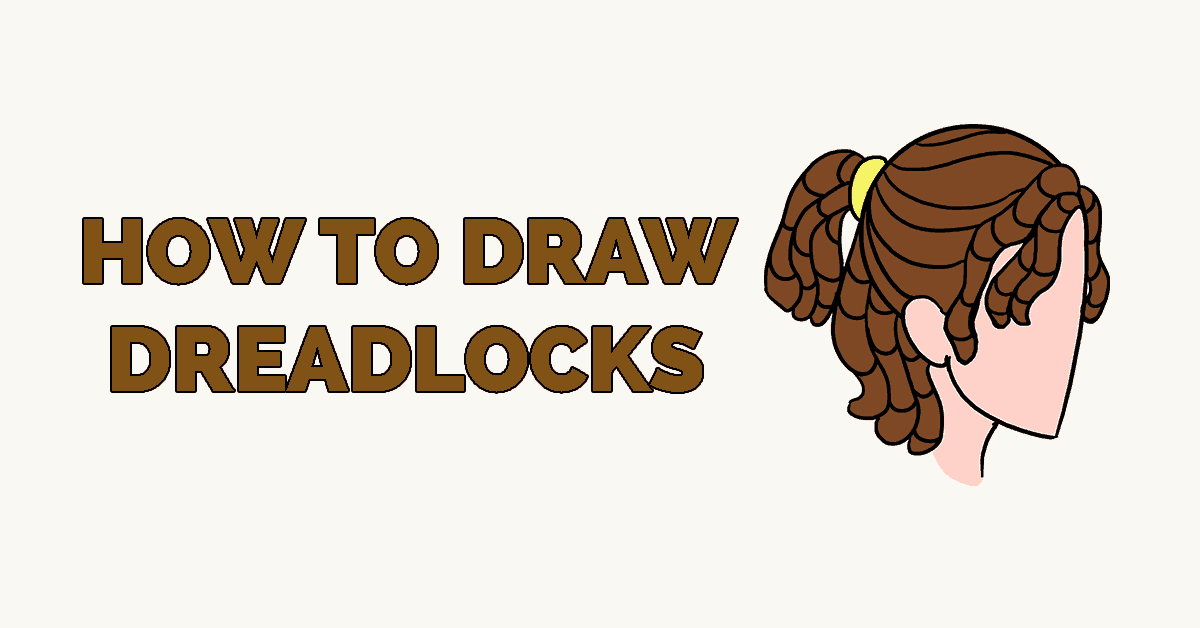 How to Draw dreadlocks - Featured image