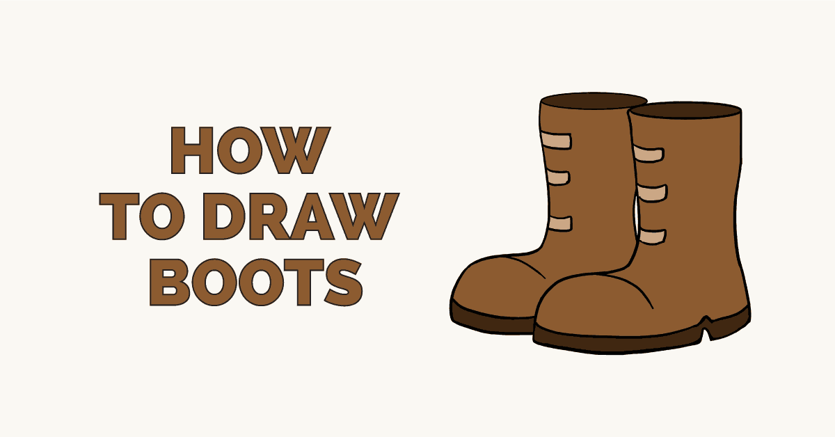 How to draw boots - featured image