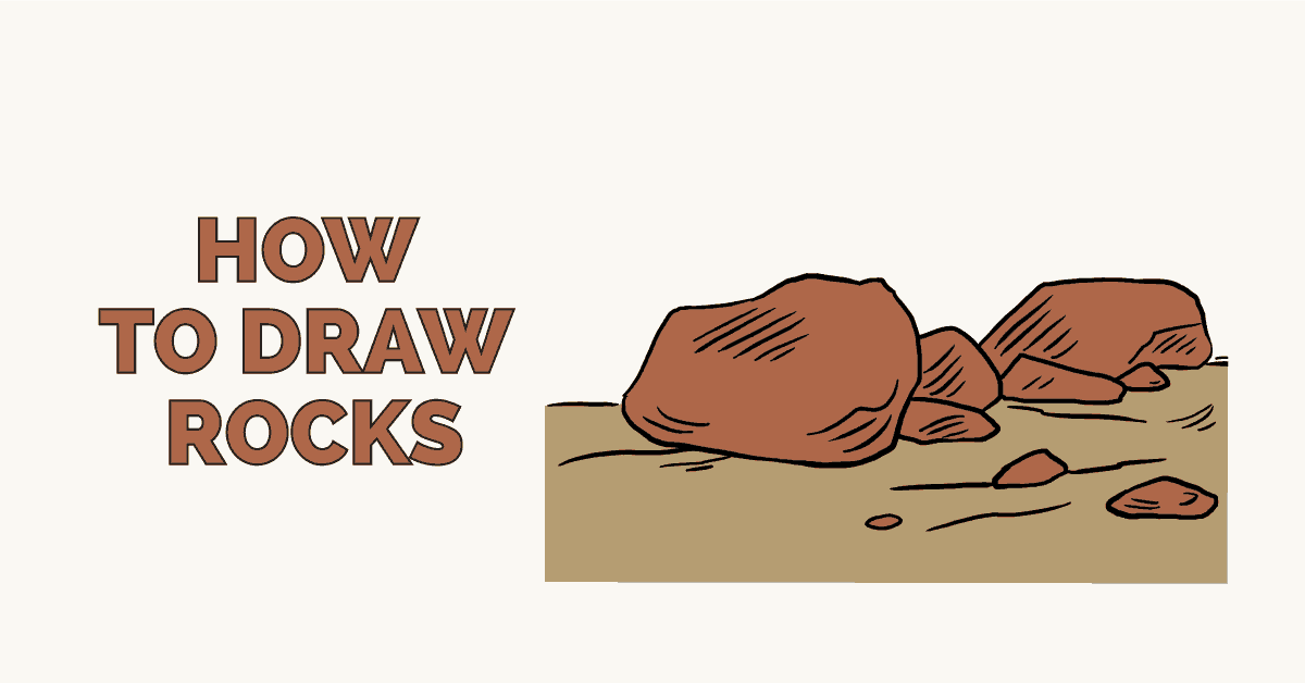 How to draw rocks - featured image