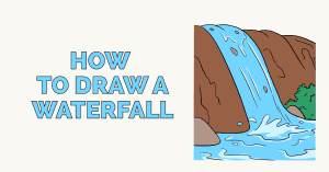 How to Draw a Waterfall - featured image