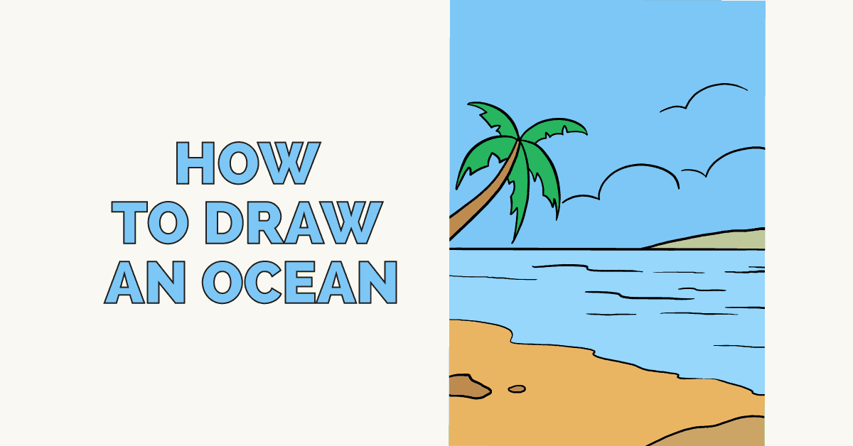 How to Draw an Ocean - featured image