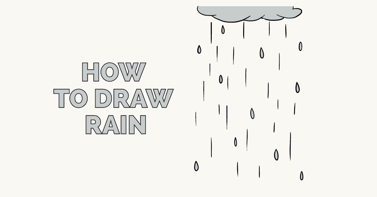 How to draw rain - featured image