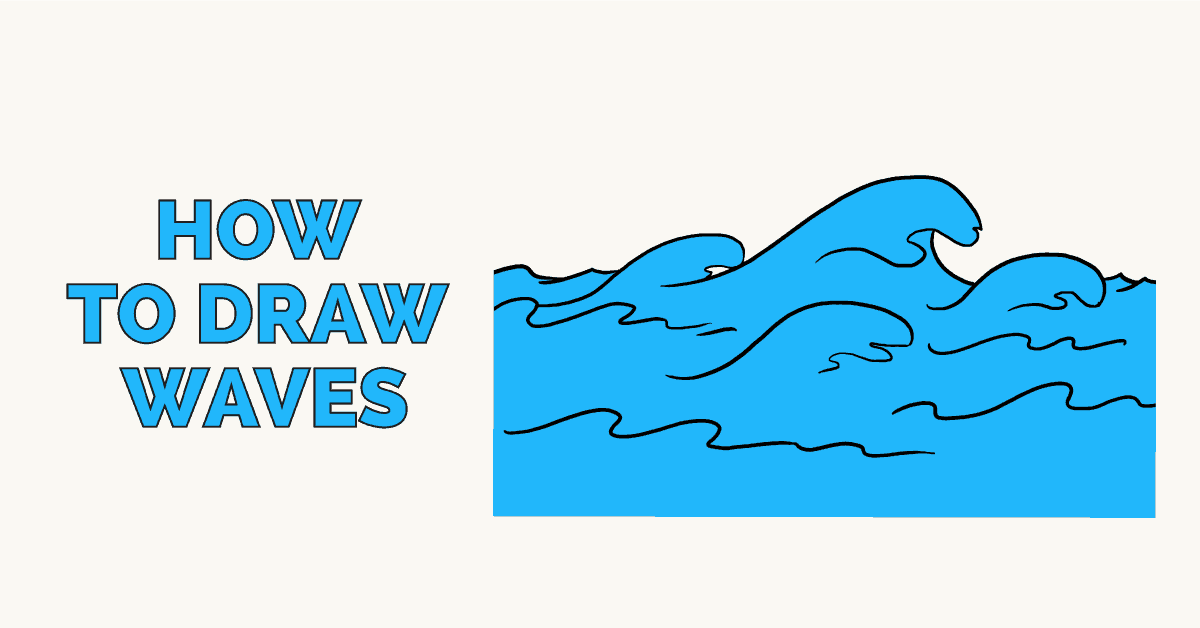 How to draw waves featured image