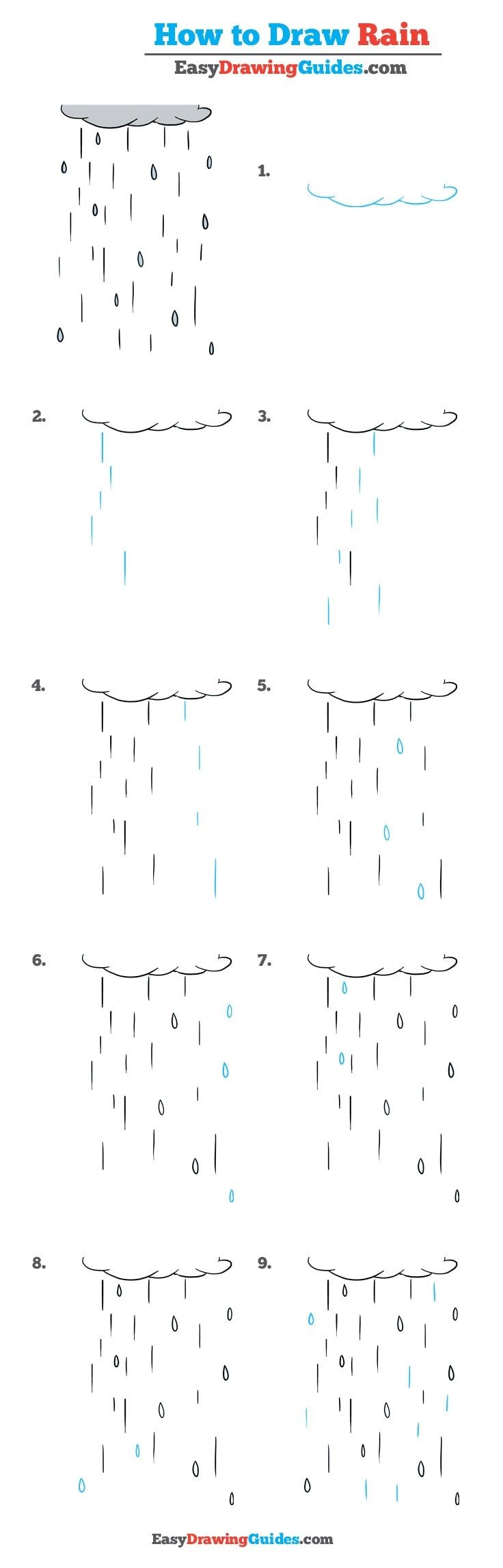 How to Draw Rain