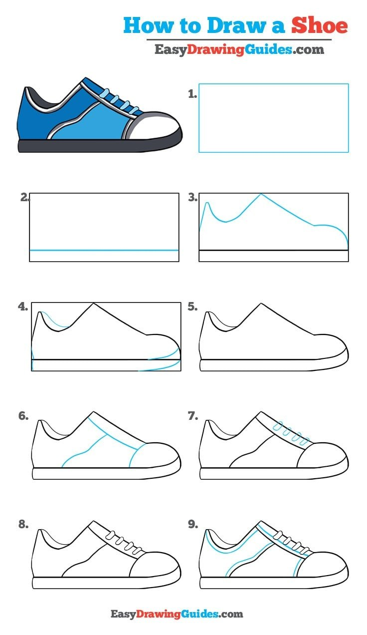 How to Draw Shoe