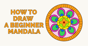 How to Draw a Beginner Mandala Featured Image