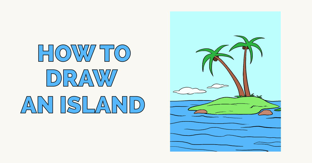 How to Draw an Island Featured Image