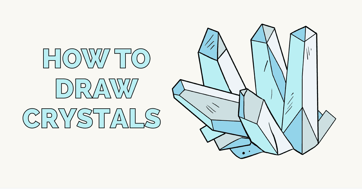 How to draw crystals - featured image