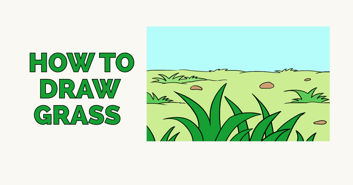 How to Draw a Grass Featured Image