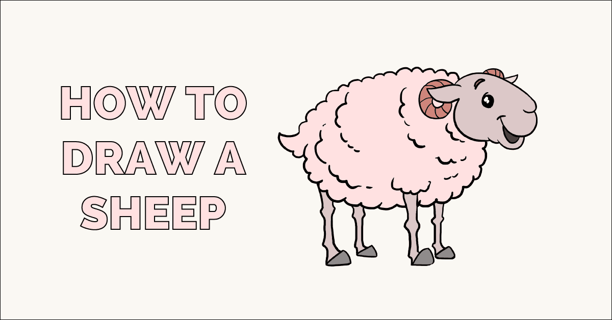 how to draw a really easy poodle