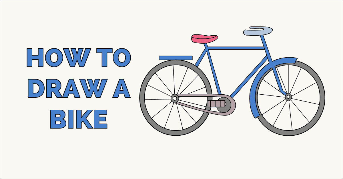 How to Draw a Bike Featured image