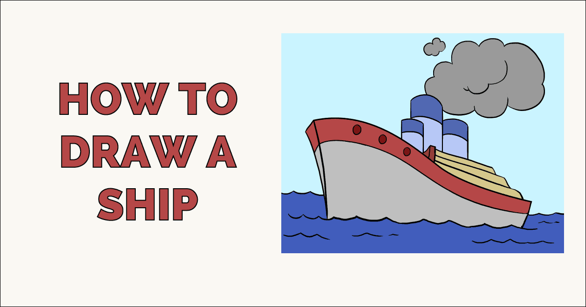 How to Draw a Ship Featured image