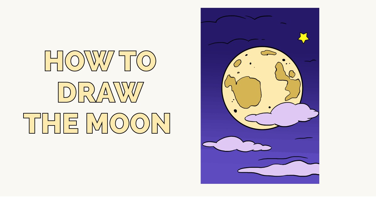 How to Draw the Moon Featured Image