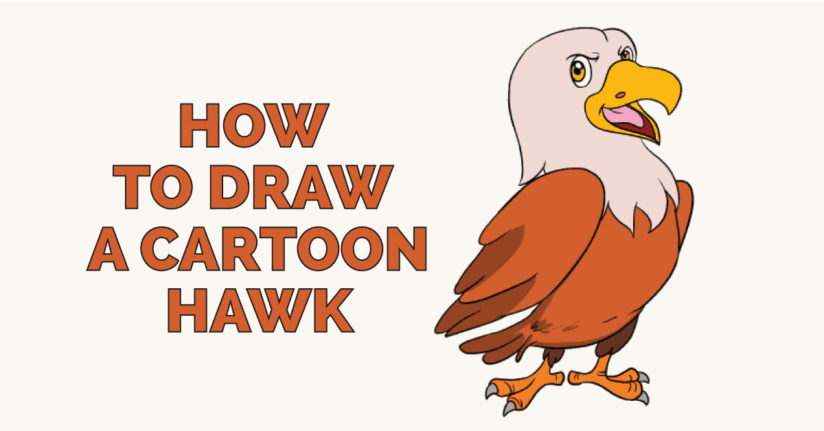 How to Draw a Hawk - featured image