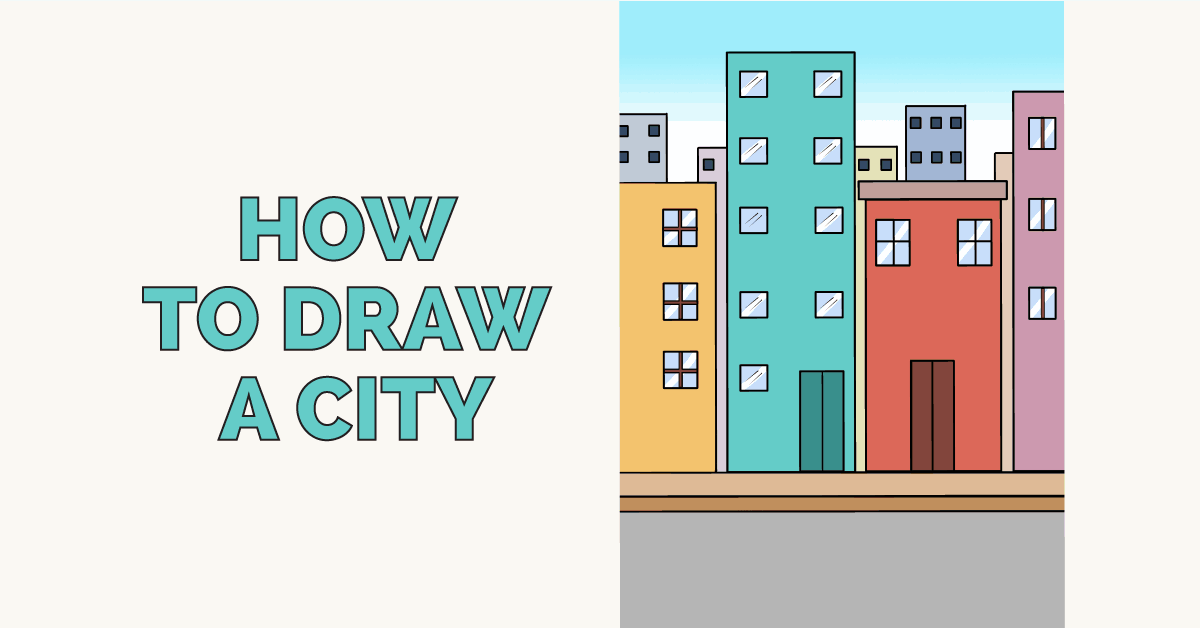 How to Draw a City - featured image