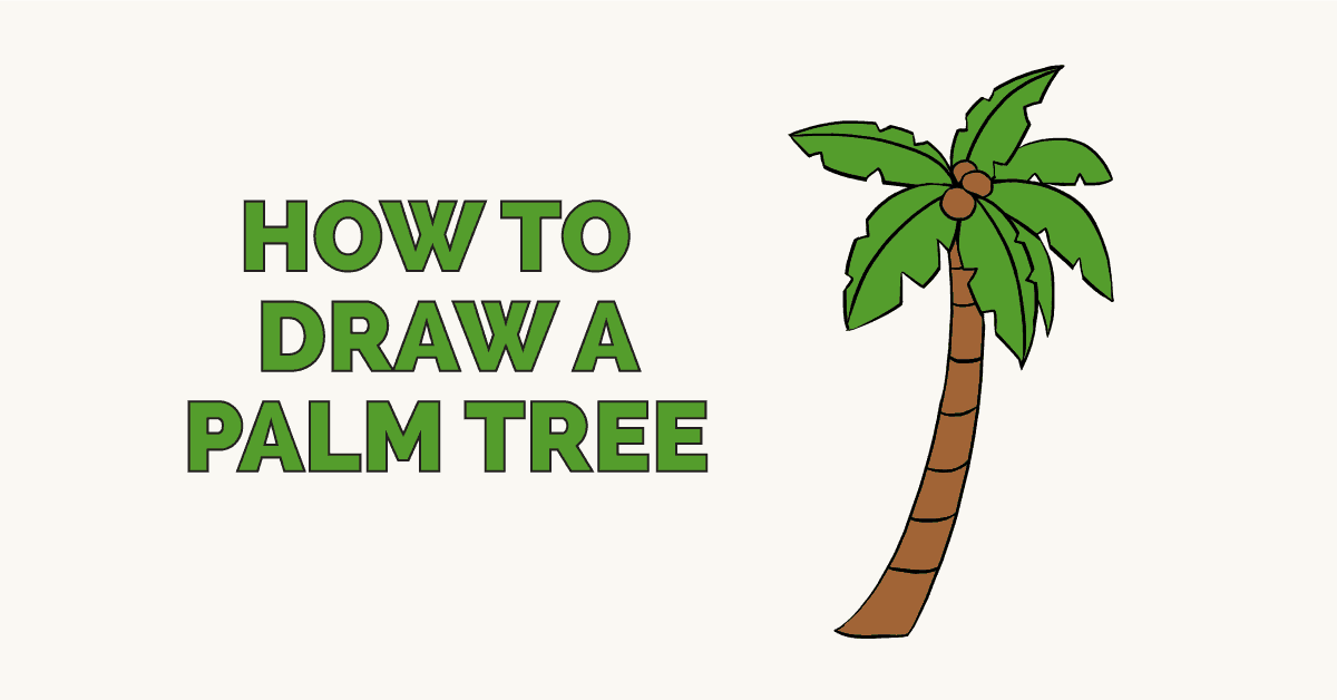 How to Draw a Palm Tree - featured image