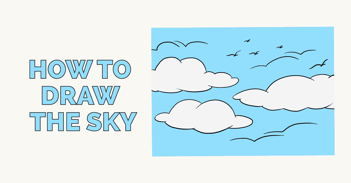 How to draw the sky - featured image