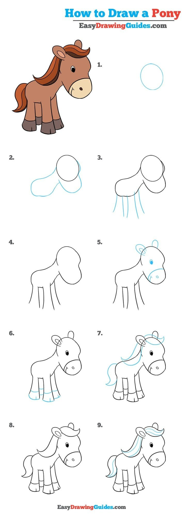 How to Draw Pony