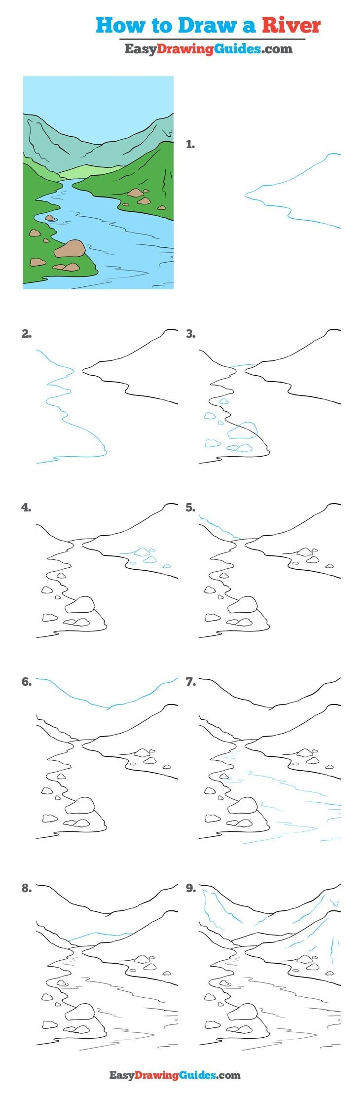 How to Draw River