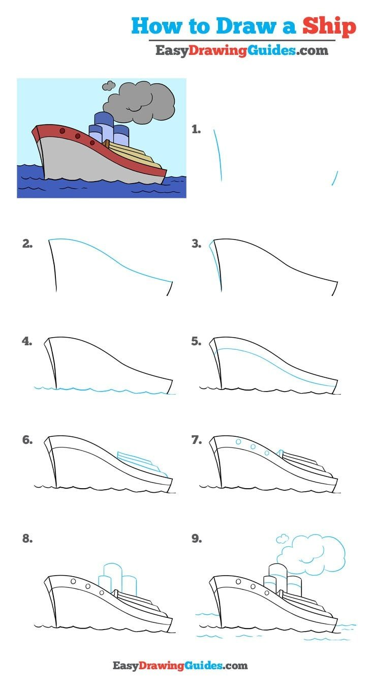 How to Draw Ship