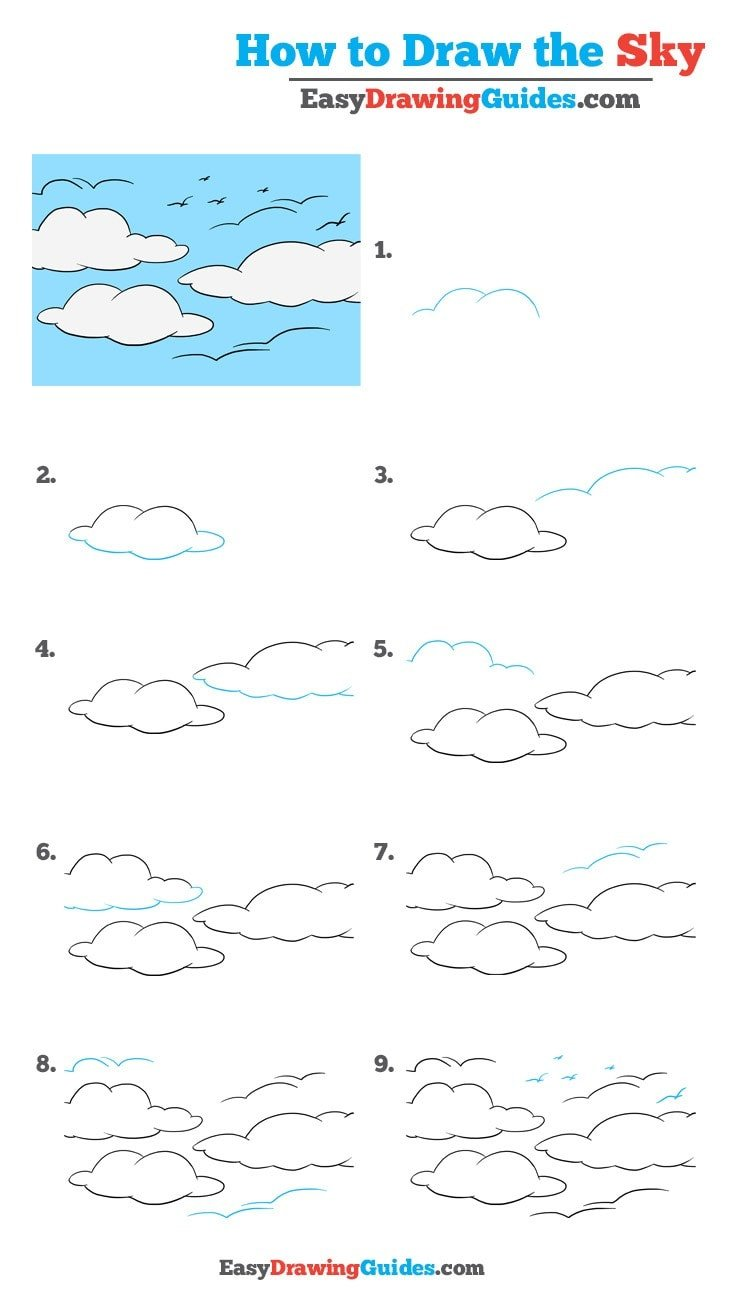 How to Draw Sky
