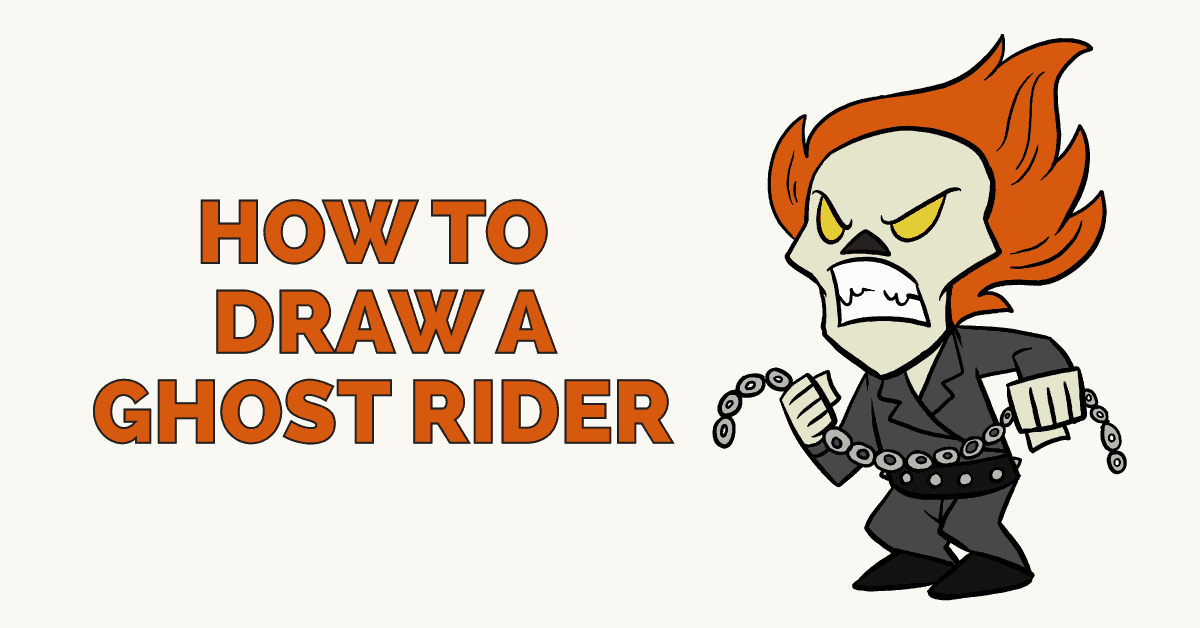 How to Draw a Ghost Rider: Featured Image