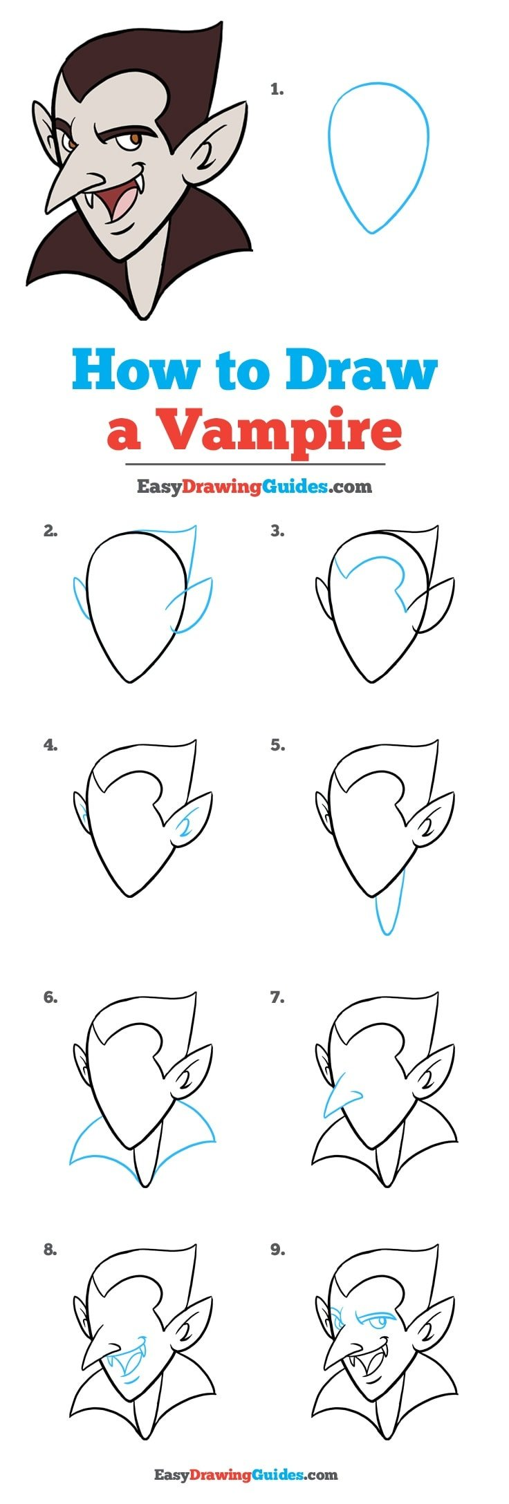 How to Draw Vampire